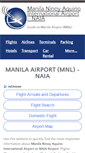 Mobile Preview of manila-airport.net