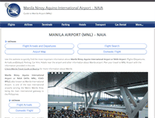 Tablet Preview of manila-airport.net